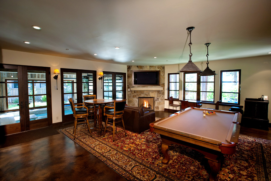 Lakeside Estate Game Room