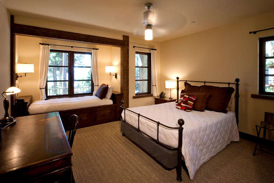Lakeside Estate Guest Bedroom