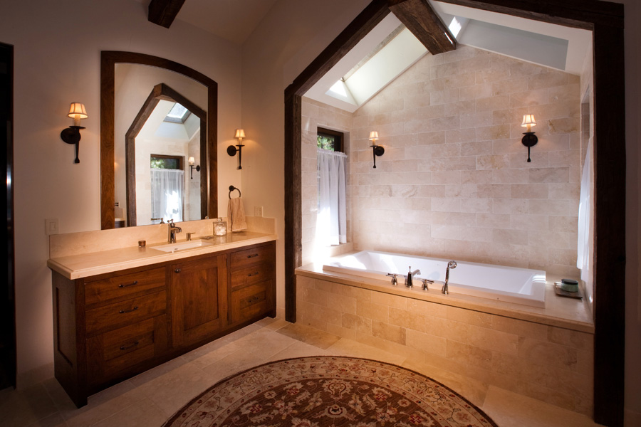 Lakeside Estate Master Bathroom