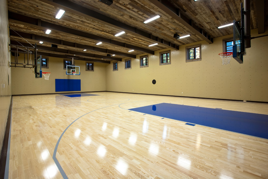 Full Indoor Basketball Court