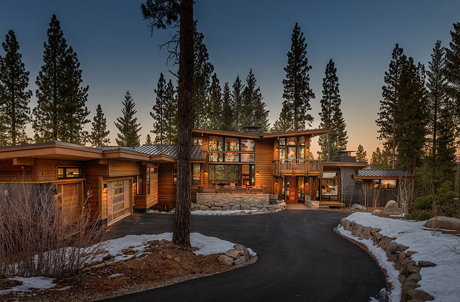 Martis Camp Modern Lodge Greenwood Homes
