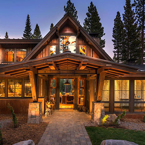 Sustainable Building at Lake Tahoe