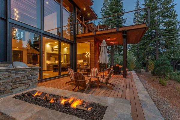 Martis Camp Modern Cabin
