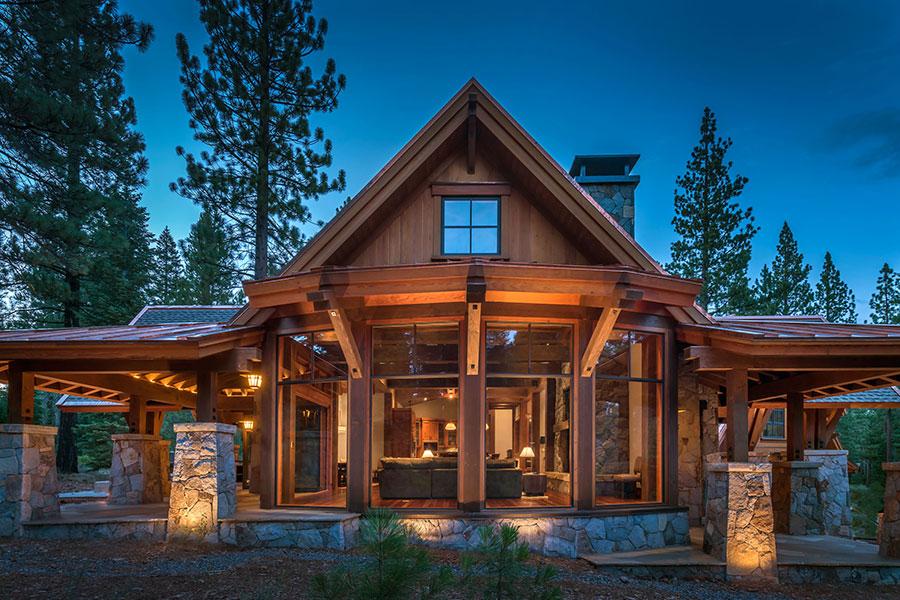 Mountain Estate Martis Camp Greenwood Homes