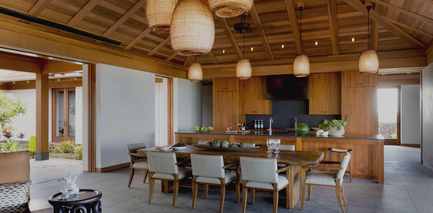 Hawaii Custom Home Kitchen by Greenwood Homes
