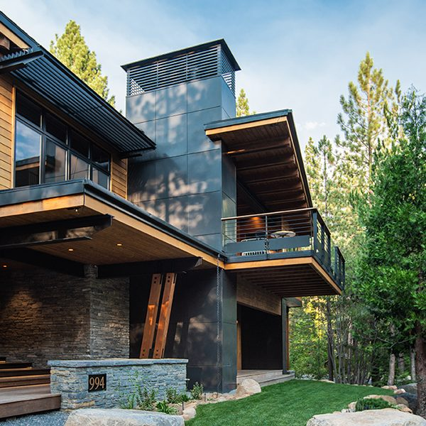 Fairview Modern by Greenwood Homes Lake Tahoe