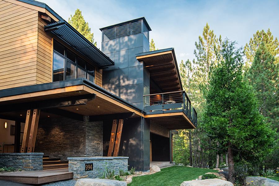 Fairview Modern by Greenwood Homes Lake Tahoe